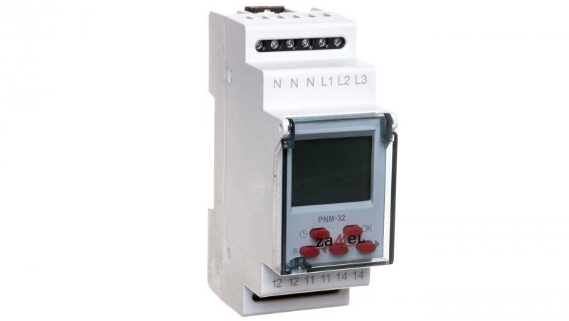 Przekaźnik napięciowy 3-fazowy 1P AC PNM-32 EXT10000106