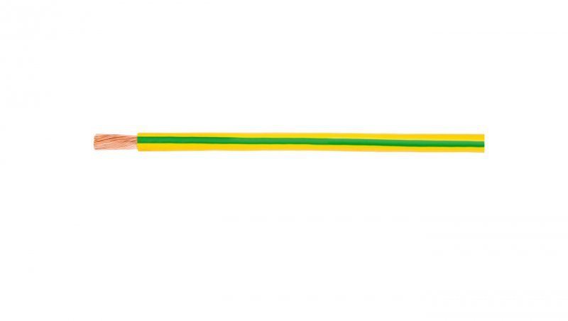 Przewód instalacyjny H07V-K 2,5 żółto-zielony 4520002S /100m/