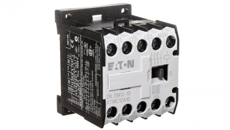 Stycznik mocy 12A 3P 230VAC 1Z 0R DILEM12-10(230V50/60HZ) 127082