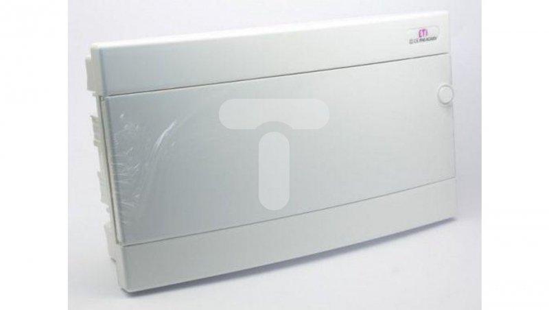 Rozdzielnica modułowa 1x18 podtynkowa /biała/ IP40 ECM18PO-s DIDO 001101077