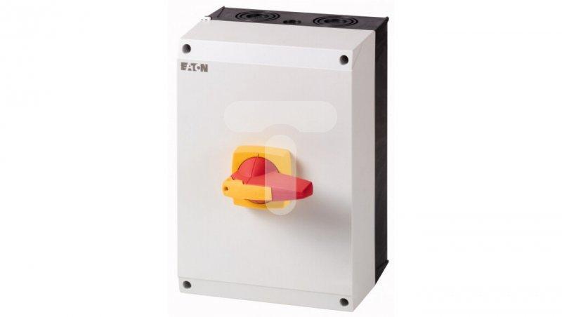 Rozłącznik izolacyjny 4P 160A z blokadą na kłódkę w obudowie IP65 DMM-160/4/I5/P-R 172797