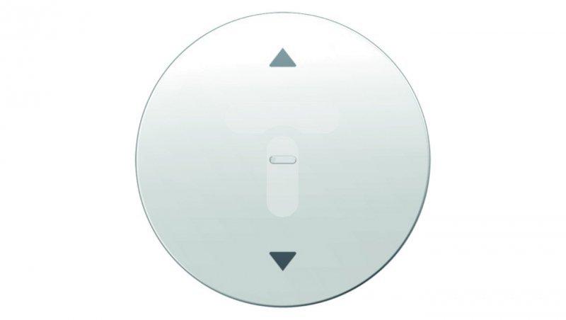 Berker R.1/R.3 Przycisk żaluzjowy komfort biały połysk 85241139