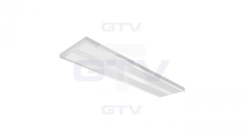Oprawa nasufitowa LED VERONA 50W 2x120cm 5600lm AC220-240V 50/60Hz IP20, neutralny biały, natynkowa, biały LD-VE2120N-50