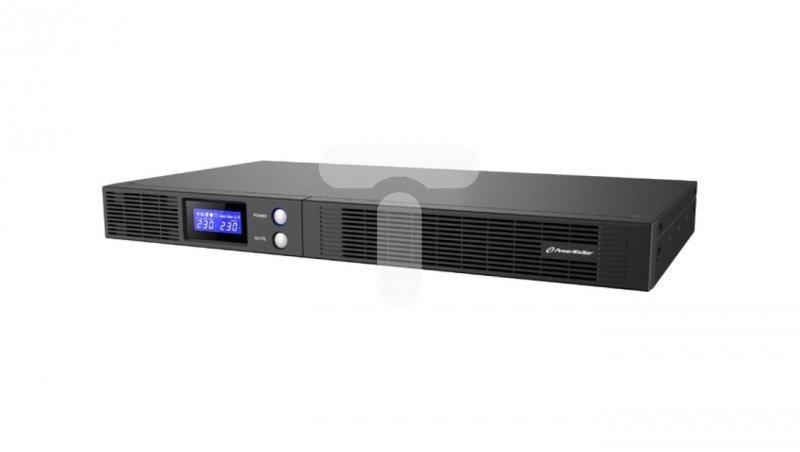 UPS POWERWALKER LINE-INTERACTIVE 500VA 1RU 4xIEC OUT, USB-HID/RS-232, RACK 19''