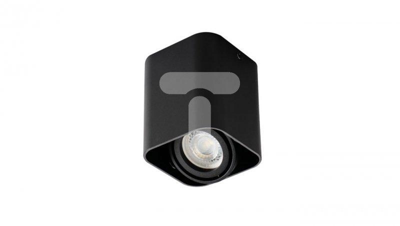 Oprawa sufitowa punktowa GU10 TOLEO DTL50-B czarna 26113