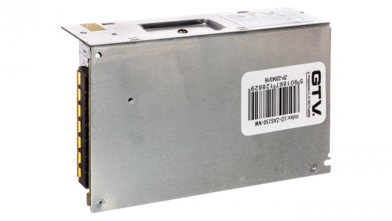 Zasilacz LED 220V-240V 50Hz/12V DC 150W IP20 LD-ZAS150-NW