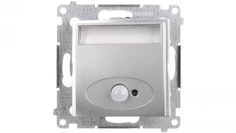 Kontakt Simon 54 Oprawa oświetleniowa LED 230V z czujnikiem ruchu srebrny mat DOSC.01/43