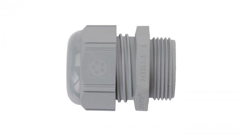 Dławnica kablowa poliamidowa M25 IP68 SKINTOP ST-M 25x1,5 ciemnoszara 53111030