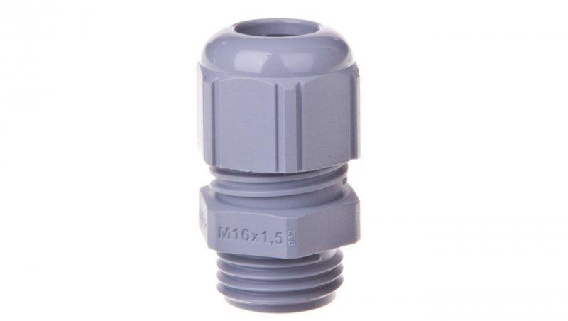 Dławnica kablowa poliamidowa M16 IP68 SKINTOP STR-M 16x1,5 ciemnoszara 53111110