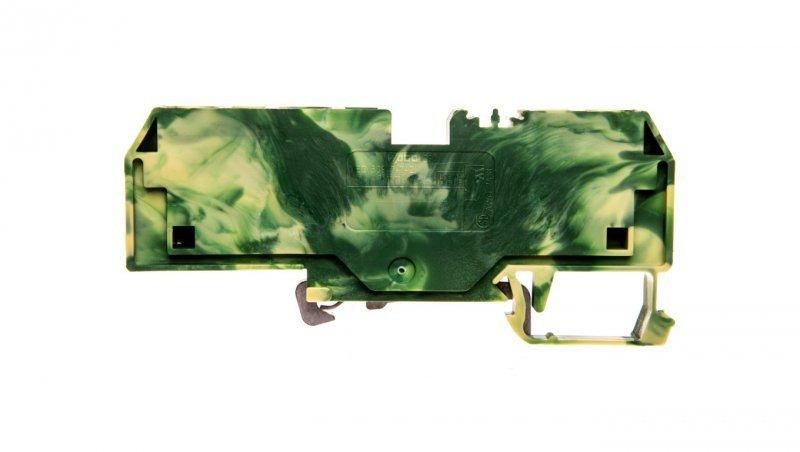Złączka 3-przewodowa 10mm2 żółto-zielona 284-687