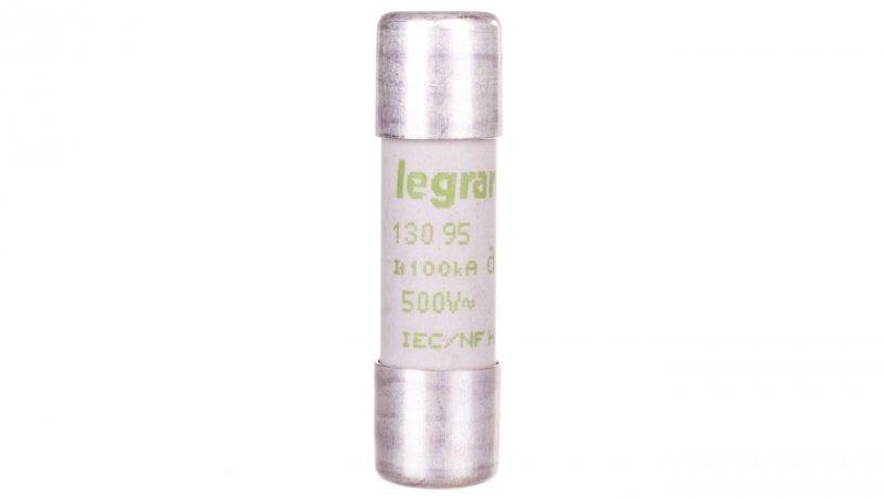 Legrand Wkładka bezpiecznikowa cylindryczna 10x38mm 0,5A aM 500V HPC 013095