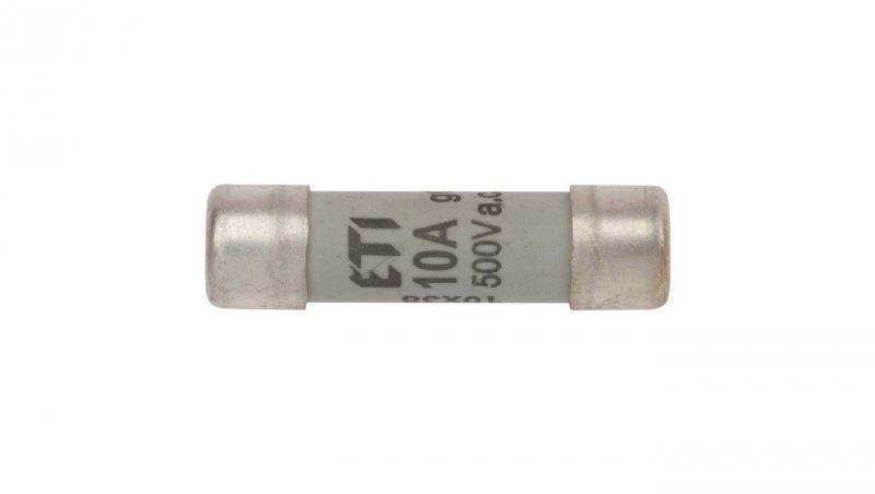 Wkładka bezpiecznikowa cylindryczna 10x38mm 10A gG 500V CH10 002620007