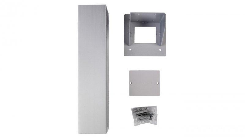 KONTAKT Simon Connect Miniolumna ALK jednostronna 5xK45 anodyzowane aluminium ALK115/8