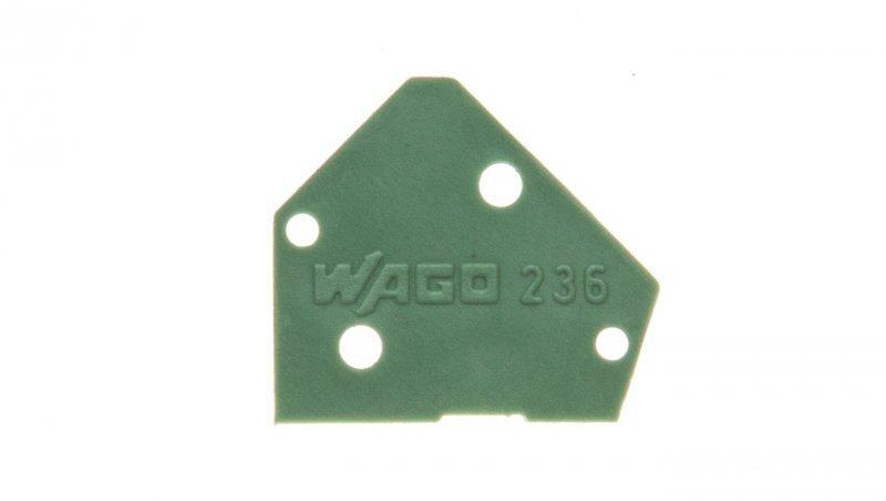Ścianka końcowa zielona 236-500 /100szt./