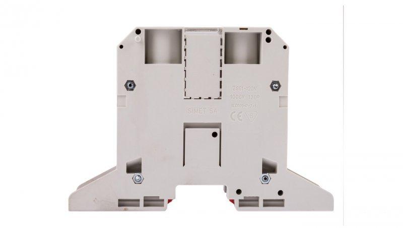 Złączka szynowa 2-przewodowa 120mm2 szara NOWA ZSG 1-120Ns 11953312
