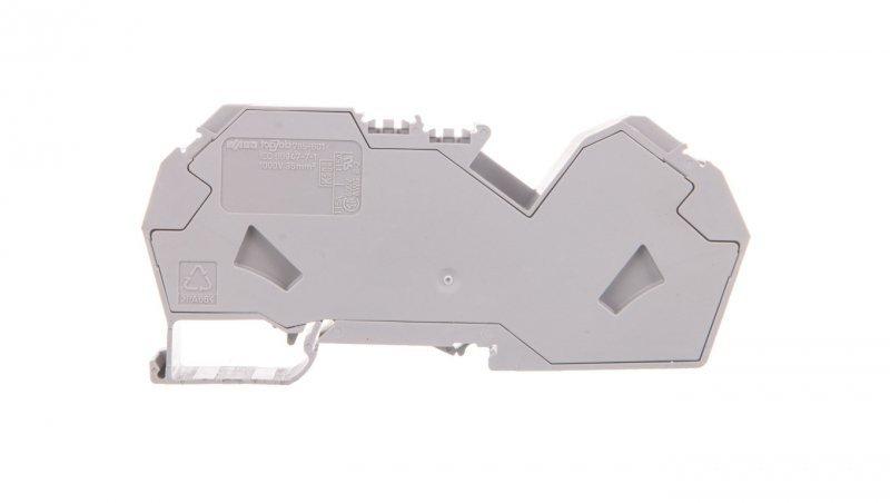 Złączka szynowa 2-przewodowa 35mm2 szara 785-601 TOPJOB