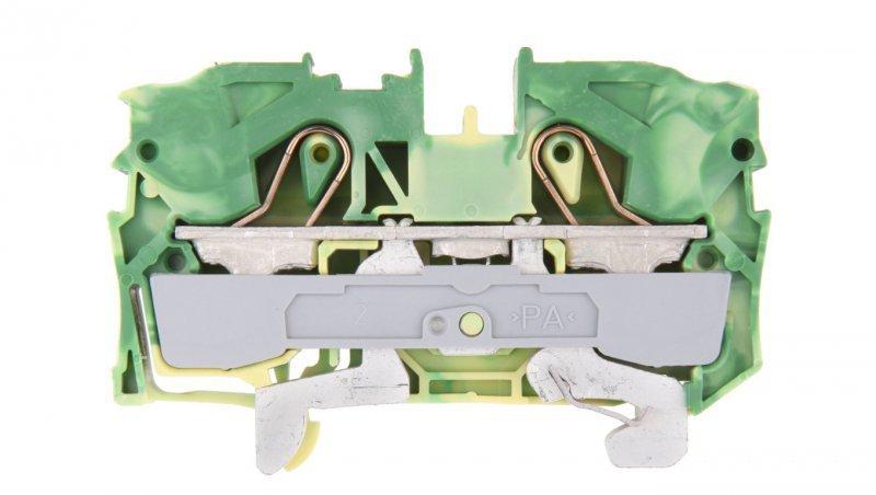 Złączka szynowa ochronna 10mm2 żółto-zielona 2010-1207 TOPJOBS