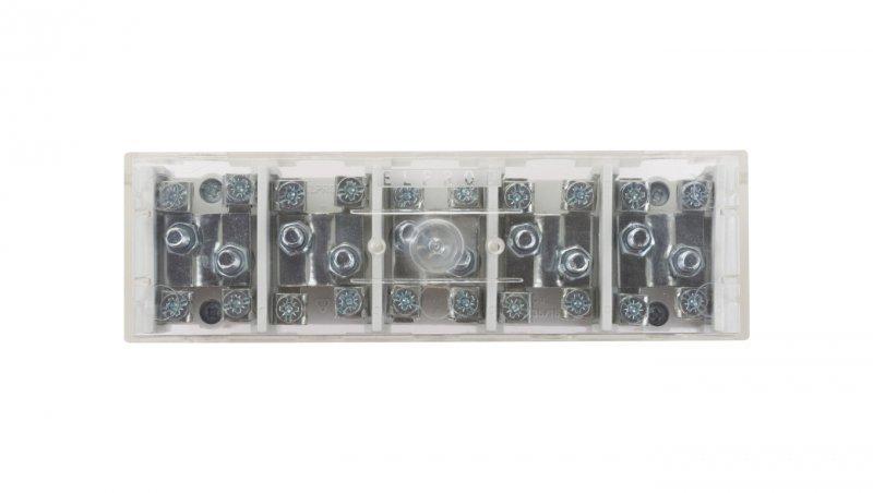 Odgałęźnik instalacyjny 5-torowy (zacisk: 5x2x35mm2 -5x4x16mm2) LZ5x35/16 wyk.22P 84037002