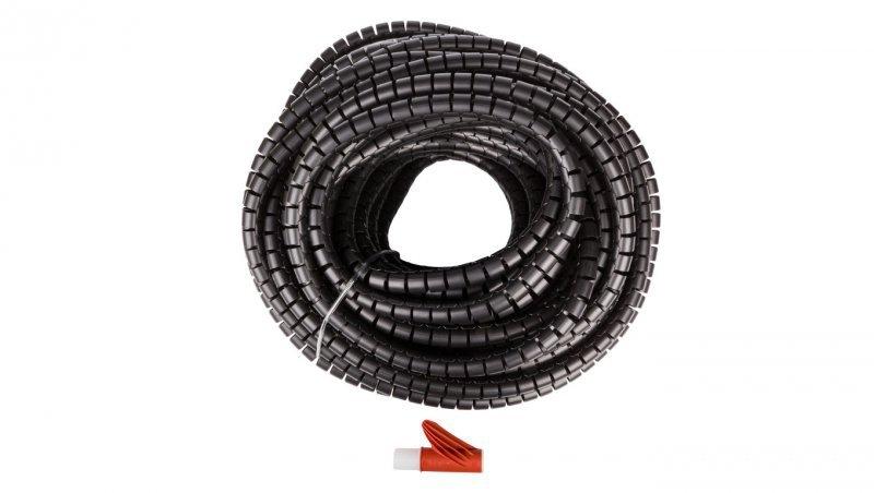 Wężyk ochronny elastyczny WE-20 czarny E01WS-01030100301 /30m/