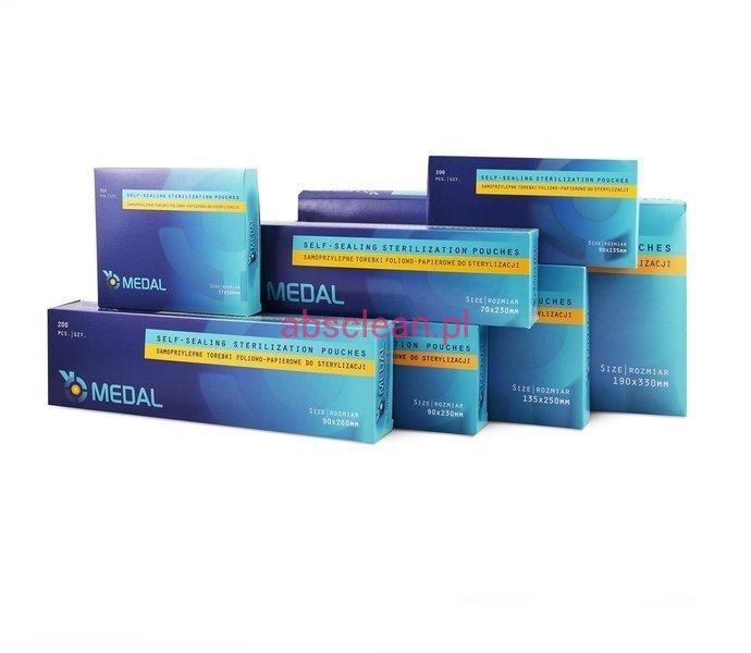 Torebka do sterylizacji MEDAL 90x135 - 200 szt