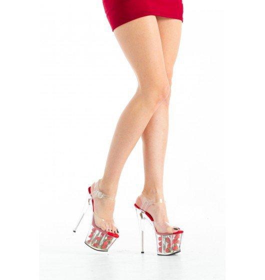 Roxie Luve - SLB-005 czerwone 36