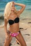 Kostium kąpielowy Aurelia Pink-Nero M-558 (9)