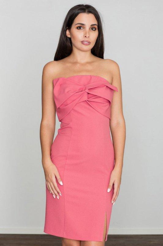 Sukienka Model M571 Coral - Figl