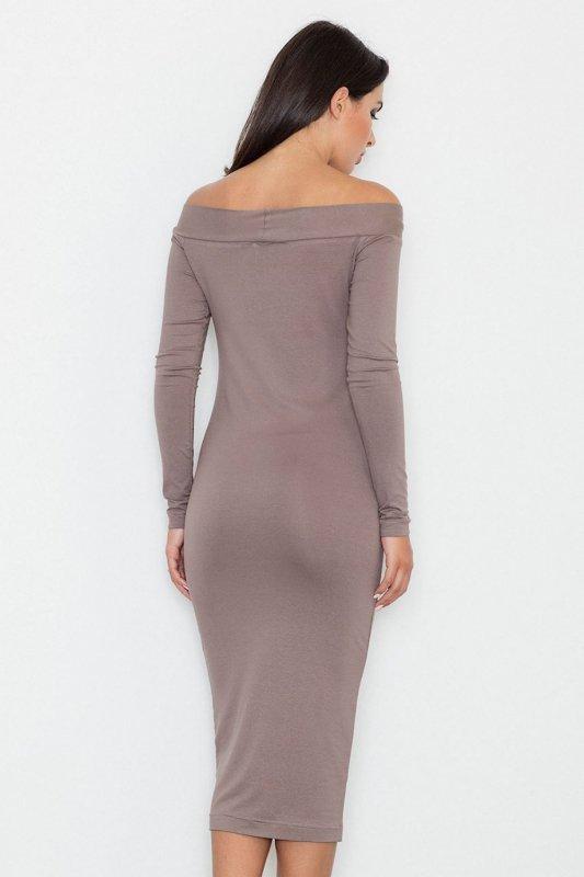 Sukienka Model M558 Brown - Figl