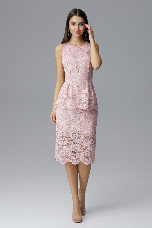 Sukienka Model M640 Pink - Figl