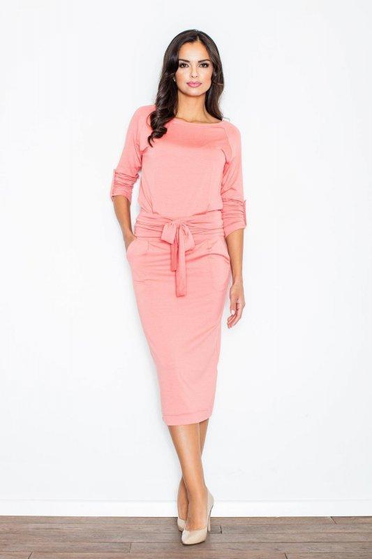 Sukienka Model  246 Pink - Figl