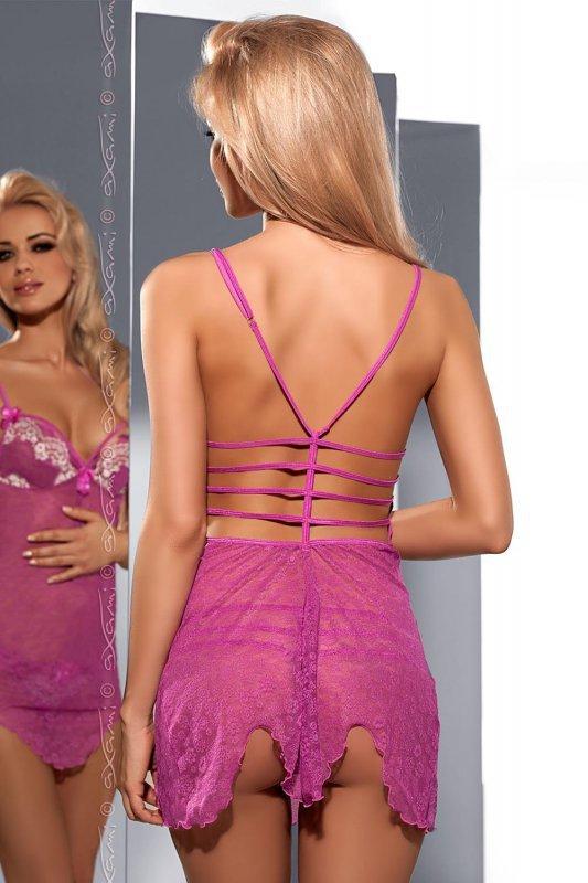 Komplet Model V-5269 Eat me Pink/White - Axami