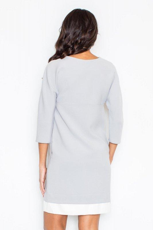 Sukienka Model 333 Grey - Figl