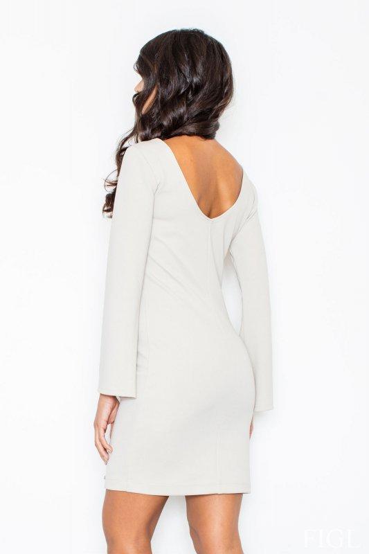 Sukienka M416 Ecru - Figl