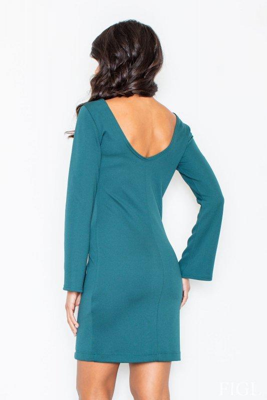 Sukienka M416 Green - Figl
