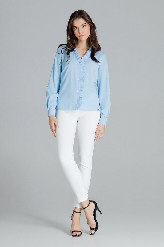 Bluzka L077 Niebieski M