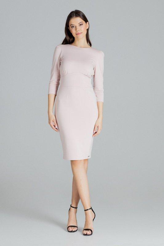 Sukienka L079 Róż L