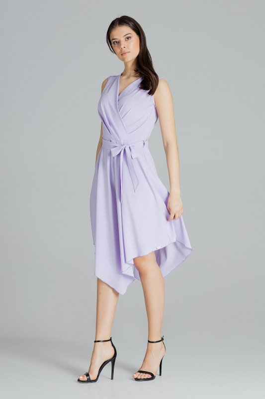 Sukienka L080 Fiolet M