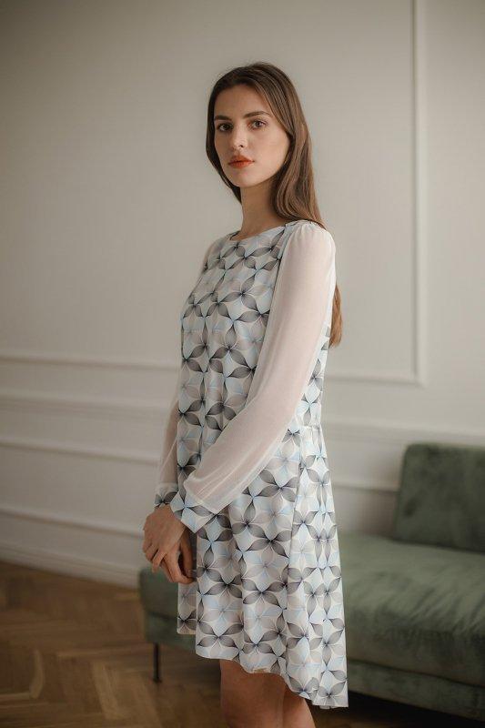 Sukienka L082 Wzór 114 L