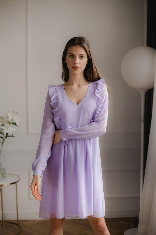 Sukienka L083 Fiolet M