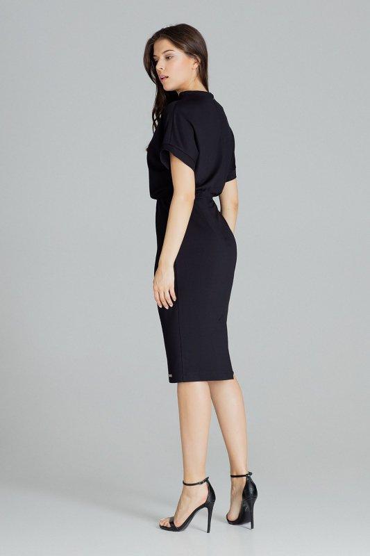 Sukienka L087 Czarny L