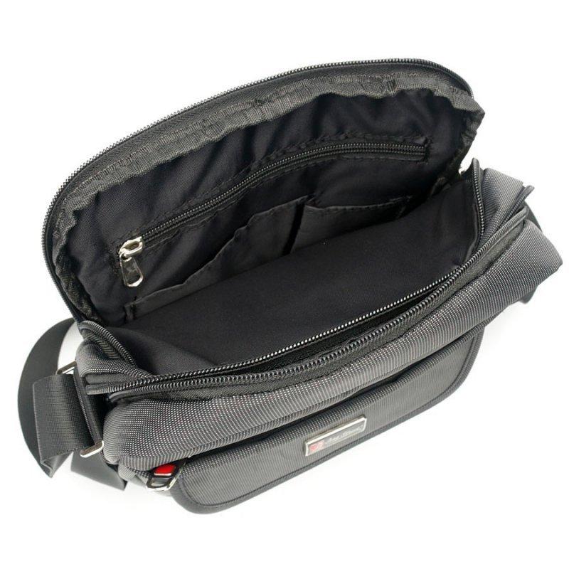 Pojemna i mocna torba na ramię raportówka 2363-1