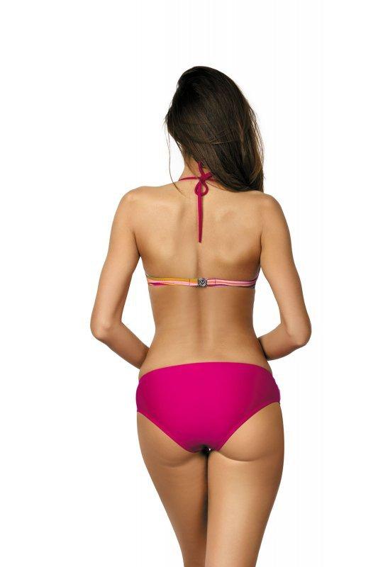 Kostium kąpielowy Lorena Magenta M-310 różowe tropiki (129)