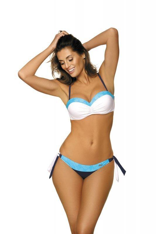 Kostium kąpielowy Felicia Mirtillo-Bianco M-491 (1)