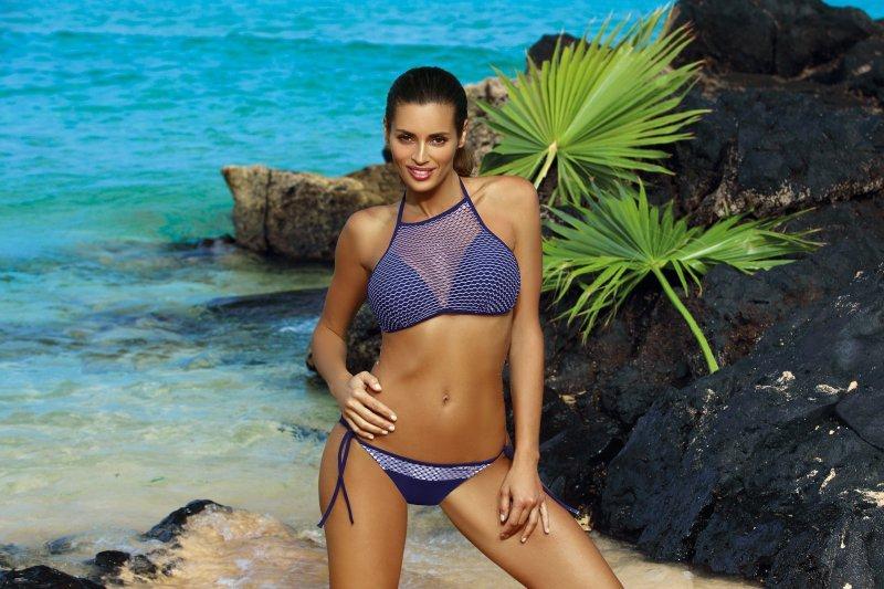 Kostium kąpielowy Lesley Blu Scuro M-478 (1)