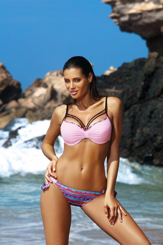 Kostium kąpielowy Lydia Pink M-484 (2)