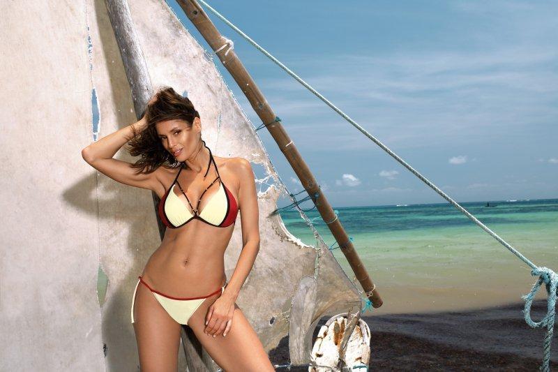 Kostium Kąpielowy Lara Vanilla-Coccinella M-511 (4)