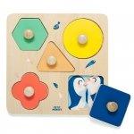 Petit Monkey - puzzle drewniane Dzień w ZOO