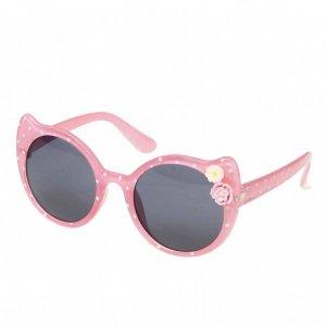 Okulary dziecięce 100% UV - Różowe kotki