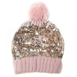 Rockahula Kids - czapka zimowa dla dziewczynki Shimmer Sequin 3 - 6 lat
