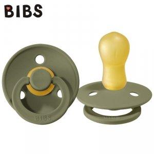 Smoczek Uspokajający dla dziecka kauczuk Hevea -  BIBS OLIVE L